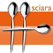 Sciara  mokkás, kávéskanál  12.5 cm