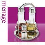 Thema  4 részes olaj-ecet és só-bors tartó
