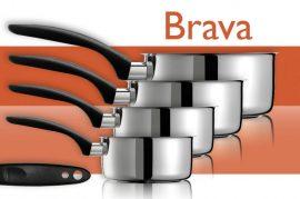 BRAVA nyeles lábas 1,2 liter 16 cm