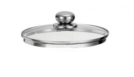 Futura üveg Fedő 24 cm /Pyrex/