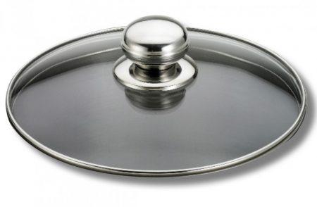Futura üveg Fedő 18 cm /Pyrex/