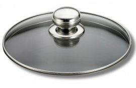 Futura üveg Fedő 16 cm /Pyrex/