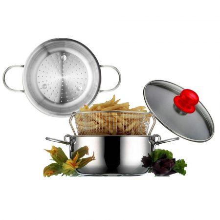 Eat Italy Pároló és burgonyasütő Készlet (20 cm)