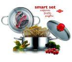 Pároló és burgonyasütő edénykészlet - Eat Italy smart set 26 cm